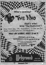 Promo for the Wedgewood Shows 1968 (Sent by Mike)
