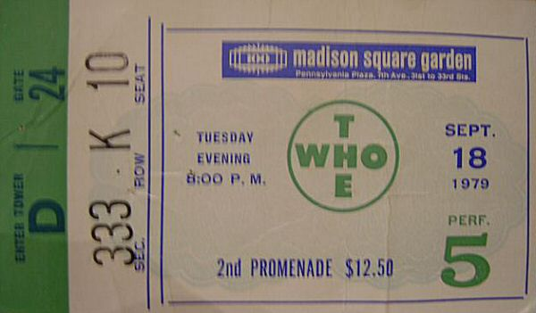 Ticket 18-09-1979 (© by Stephen Byrne)