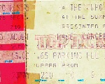 Ticketstub for Houston show 1980 (by Scott Smith)