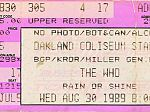 Ticket, 30-08-1989 (© Thomas Byron)