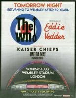 Promo add for Wembley 2019