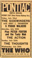 Concert Add, 28.7.1965, New Musical Express