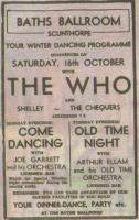 Promo for Scunthorpe 16 October 1965 (thanks to Doug)