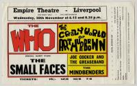 Promo add for Liverpool 20 November 1968