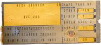 Ticket stub, July 18, 1989 (Photo: Todd Shillington)