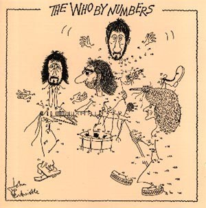 CD Cover The Who By Numbers